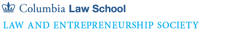 Columbia Law and Entrepreneurship Society logo