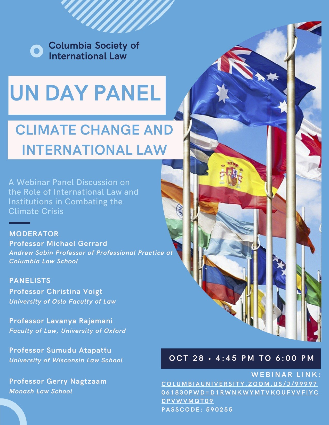 UN Day Event Flyer